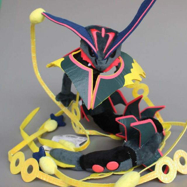 US $17 69 |Anime Mega Rayquaza Black Shiny Plush Soft Toy Stuffed Animal  Doll 80cm 32'' Collectible Gift-in Stuffed & Plush Animals from Toys &