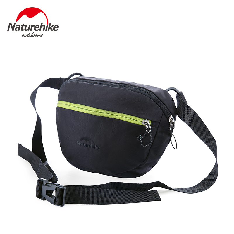 NatureHike  Brand Bag Nylon Sport Bags Men Women Outdoor Hiking Traveling Bags Running Small Set Green Blue Red Black authentic brand polo high quality golf gun bags men travelling ladys cover 5 6 clubs small women golf bag bolsa de sport bag