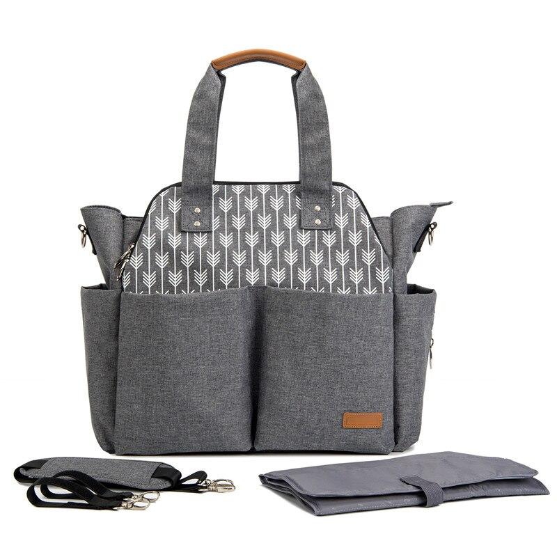 Мумия сумка пеленки мешок большой ёмкость Мода плеча рюкзак портативный Messeger сумки подгузник Изменение Организатор