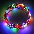 10 M 100LED de Alambre de Cobre de la Boda de Navidad Cadena Hada Luz Lámpara Con Pilas tienda Worldwide