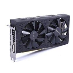 Используется, Sapphire RX570 4G Platinum Edition графическая карта 7000 МГц GDDR5 256 бит HDMI + DVI + DP * 3 PCI-X16