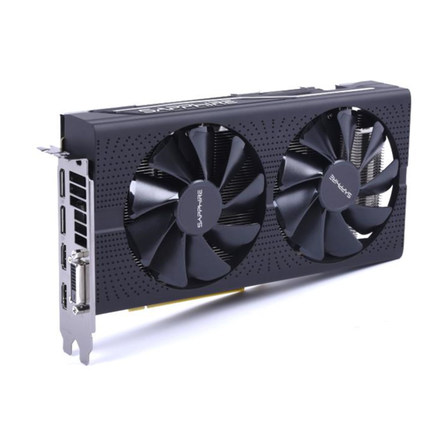 USED,Sapphire RX570 4G Platinum Edition graphic card 7000MHz GDDR5 256bits HDMI+DVI+DP*3 PCI-X16 image