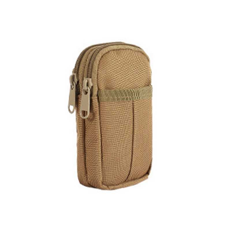 Hunting Traveling Outdoor Tactical Bag Waterproof Double Zipper Waist Fanny Pack Pouch Military Organizer Phone Pouch 8 colors