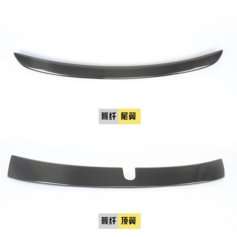 <font><b>W203</b></font> Carbon Fiber Rear Roof Lip <font><b>Spoiler</b></font> Wing for Mercedes Benz 2000-2007 image