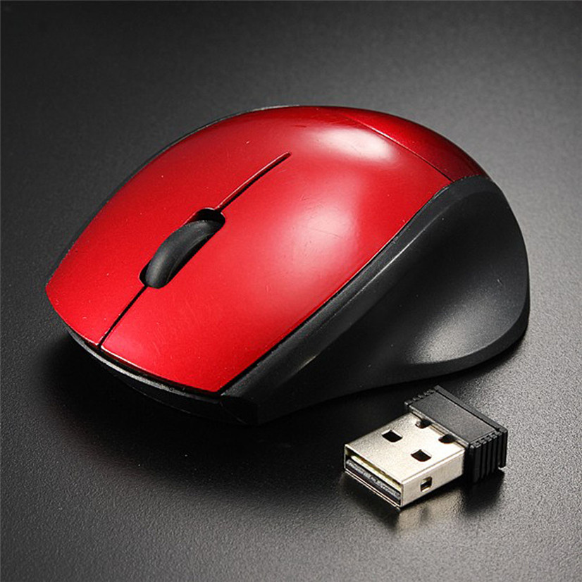 New Mouse 2.4GHz Mice Optical Mouse Cordless USB Receiver PC Computer Wireless for Laptop Drop Shipping