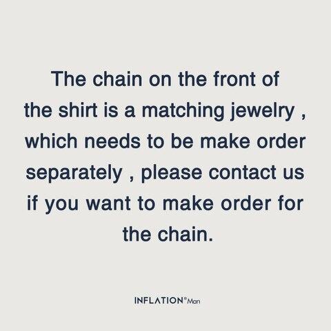 INFLATION Men Long Sleeve Shirts Digital Printing Oversized Shirts 2019 Autumn Male Streetwear Fashion Shirts 92140W Lahore
