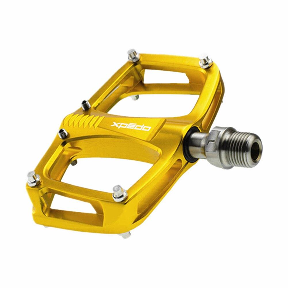 XPEDO C260 ultraléger vtt pédales Ti titane essieu pédales ville vélo route fixe vélo pliant engrenage 195 g/paire 3 roulement scellé - 2