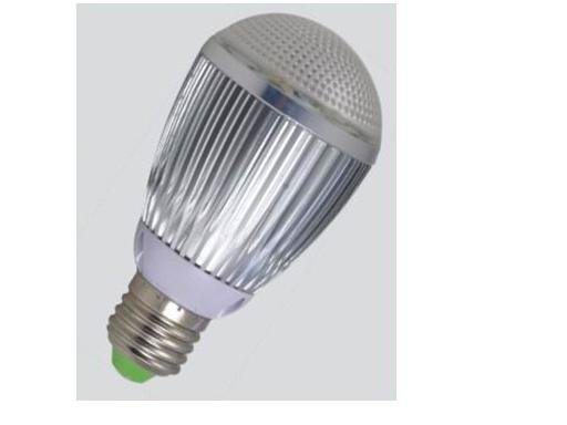 E27 base 5*1W led bulb;cool white;P/N:QP3W019