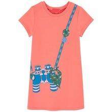 2016 Новые Летние новорожденных девочек одеваться детская одежда шаблон девочек платья детская одежда
