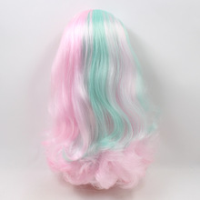 Factory Neo Blythe Doll Pink Mix Green Hair Jointed Body 30cm