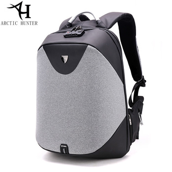0a95966281 More Review ARCTIC HUNTER New men anti - theft shoulder bag multi -  functional laptop college students bag business travel backpack B-00208