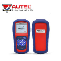 AUTEL AutoLink AL419 OBD2 Auto Diagnostic Tool CAN Fault Code OBD II Reader Scanner Troubleshooter Code Tips