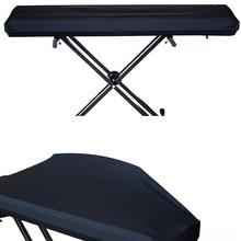 Electric Digital Piano Keyboard Cover Dustproof Elastic Adjustable For 61 73 76 88 Key P7Ding