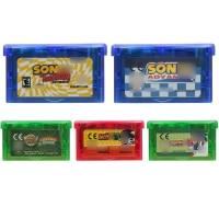 Video Game Cartridge 32 Bit Game Console Card Sonicc Series