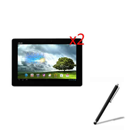 3in1 2x LCD واضح واقي للشاشة الأفلام طبقة رقيقة واقية الحرس 1x قلم ل لوح ذاكرة اسوس FHD 10 ME302C ME302KL K005 K00A