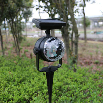 pt sd203 r axis 360 degree manual rotary stage 100mm rotation stage rotating platform rotary stage Solar led Garden Light Rotary Color Projector Light Outdoor Lawn Stage Lamp Outdoor Landscape Pathway Yard Christmas decoration