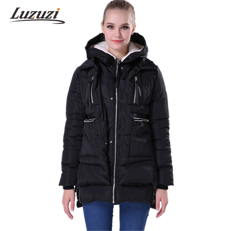 Winter Jackets and Coats Women Parka Thick Wadded Especially Female Womens Outerwear Slim Warm Cotton Parkas Padded Coats WS008 Chemisier