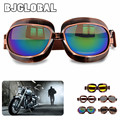 2016 New Vintage Harley Style Sunglasses Steampunk Goggles Motorcycle Cycling Glasses Sport Eyewear For Women Men Free Shipping