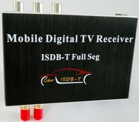 Ouchuangbo HD Car ISDB T Receiver Full Seg with dual tuner support HDMI USB for Brazil Philippines Peru South American