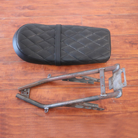 Modified Cafe Racer Iron Seat SUBFRAME For YAMAHA VIRAGO CAFE RACER SUBFRAME +seat