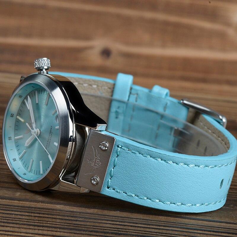 新しい到着yelang v1010アップグレードバージョンt100トリチウムブルー発光防水レディ女性ファッションカジュアルクォーツ時計腕時計  グループ上の 腕時計 からの レディース腕時計 の中 2