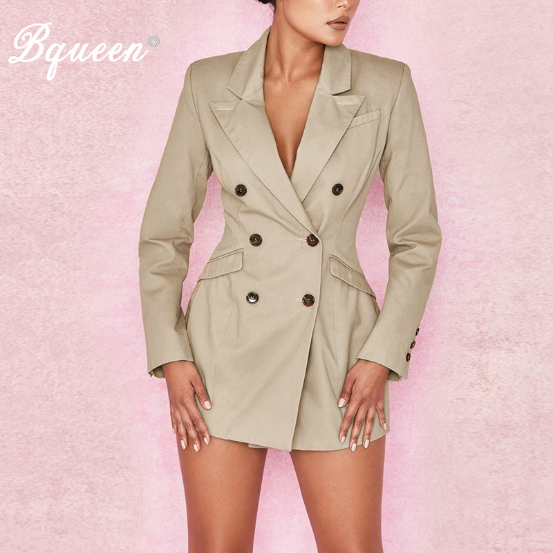 Bqueen 2019 Formal Suits Botton Long Sleeve V Neck Suits Sexy New Fashion For Lady Autumn