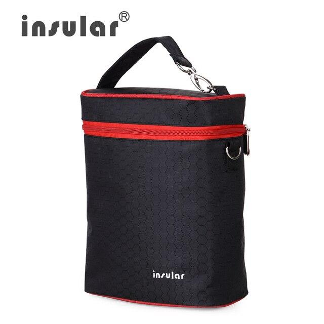 Высокое качество 420D нейлон кормление бутылки изоляции сумки красочные тепловая бутылка сумки-холодильники сумки