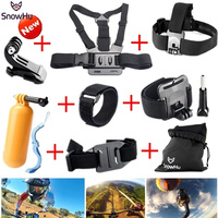 Gopro Accessories Chest Head Strap Monopod Floating Bobber Mount For Go Pro Hero 4 3 2Xiaomi