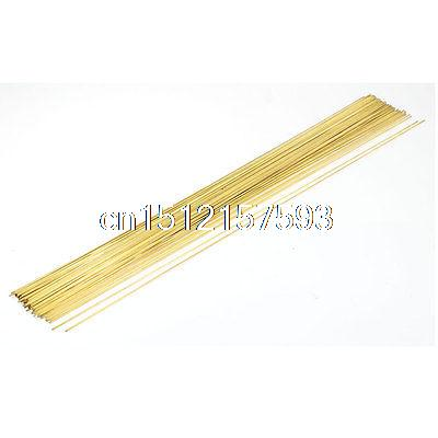 100Pcs 1mmx400mm Electrode EDM Tube Pipe for Electrical Discharge Machine цена
