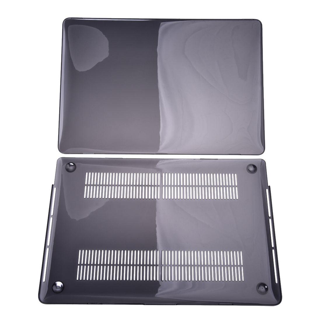 Crystal Hard Case For Apple Macbook Laptop Cover Retina 15 Inch Black