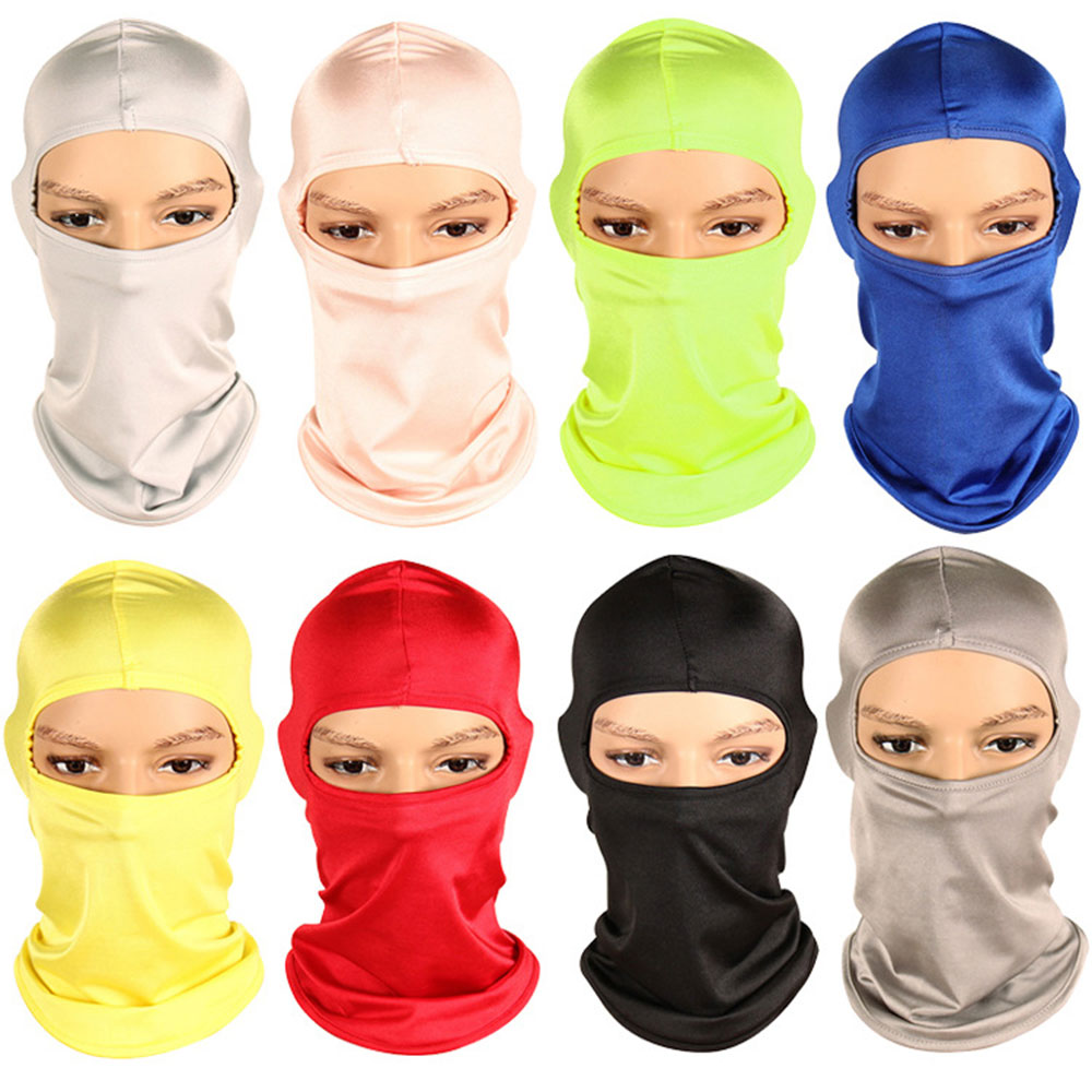 Outdoor Balaclava Full Face Mask Motorcycle Cycling Windproof Warm Ski Neck Mask