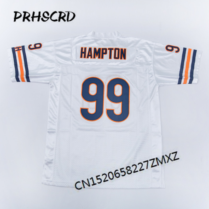 644d82f0a65 Retro star #99 Dan Hampton Embroidered Throwback Football Jersey-in ...