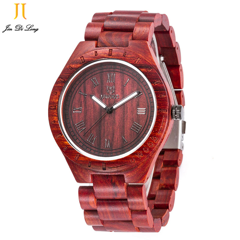 2017 Genuine Brand Wood Watch Men Analog Quartz Movement Date Waterproof Wooden Watches Male Wristwatches relogio feminino wood watch luxury brand wood watch women analog natural quartz movement diamond small size wristwatches clock relogio masculino