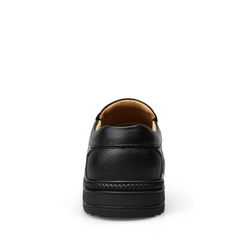 AKZ Brand High quality real leather Male Business Shoes 2018 New Spring classic Mens Casual Shoes Soft comfortable Big size38-46