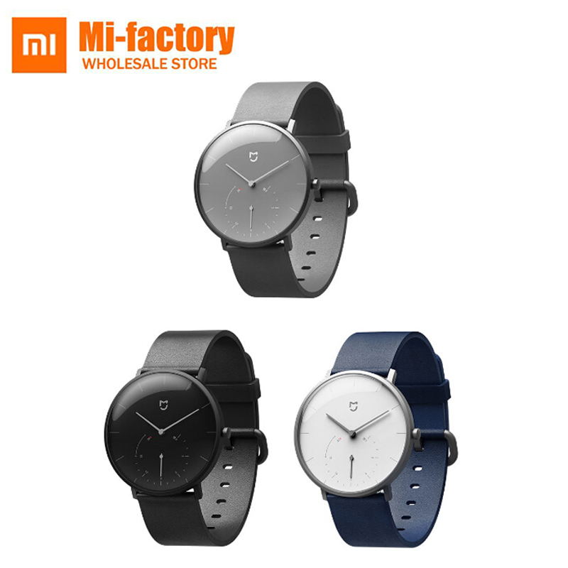 NEW Xiaomi Mijia Waterproof Smart Watch Pedometer Automatic Calibration time Vibrate reminder Stainless Cover Smart bracelet