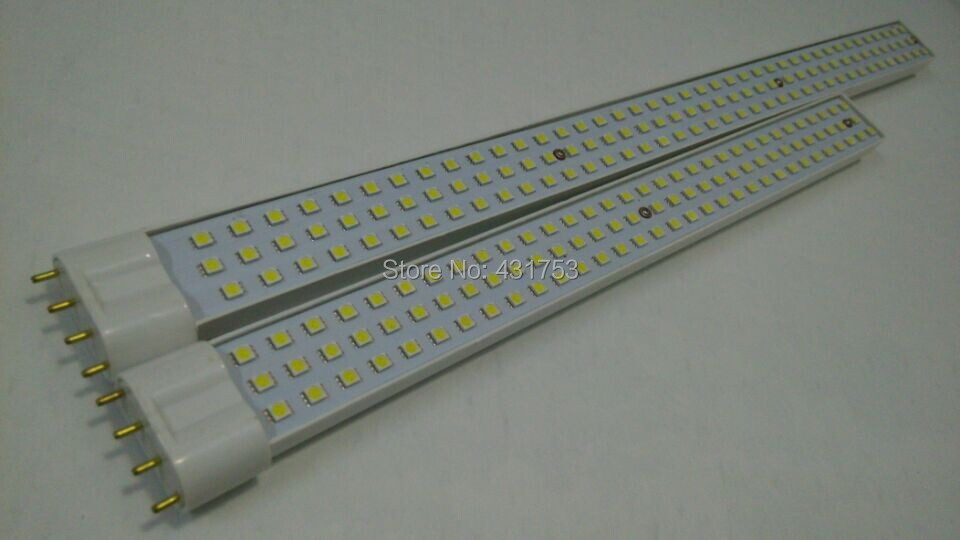 High Power 2G11 18W 25W LED Tube Light 4Pin 5050 SMD Led U Lamp Pure White AC 220V led bulbs tube led strip light 10pcs/lot 1w led bulbs high power 1w led lamp pure white warm white 110 120lm 30mil taiwan genesis chip free shipping