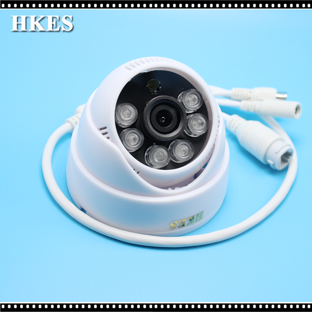720P Wired Security IP Camera IR Cut Night Vision Audio ...