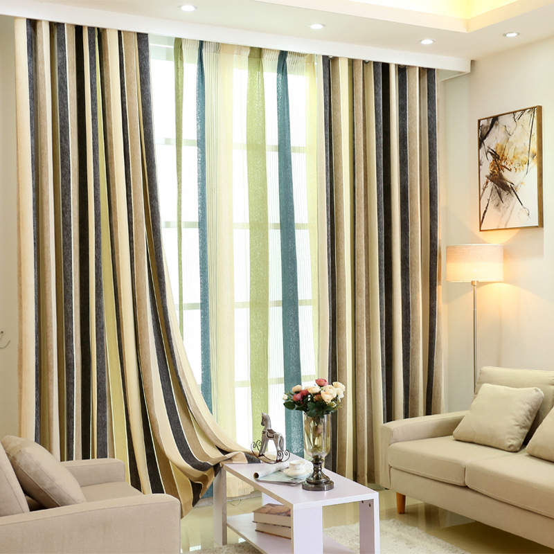 popular vertical stripe curtains buy cheap vertical stripe. Black Bedroom Furniture Sets. Home Design Ideas
