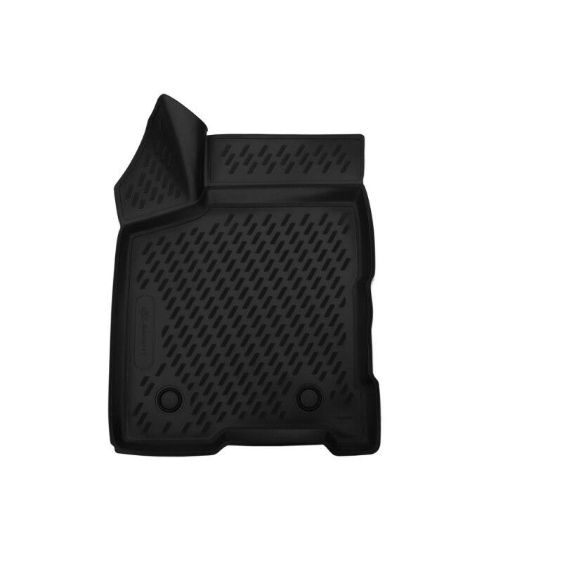 Tapis auto salon 3D pour LADA Vesta, 2015->, avant gauche, 1 pièces (polyuréthane)
