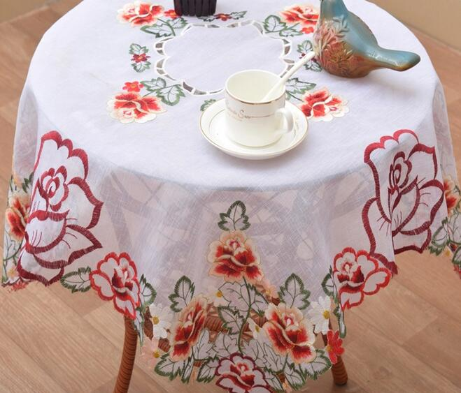 82CM Modern White Square Table Cloth Towel Tea Christmas Tablecloth Cover  Nappe Doilies Manteles For Home Wedding Decor In Tablecloths From Home U0026  Garden On ...