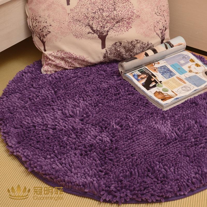 Top soie cercle tapis ordinateur chaise chaise pivotante tapis tapis salon table basse tapis piaochuang pad