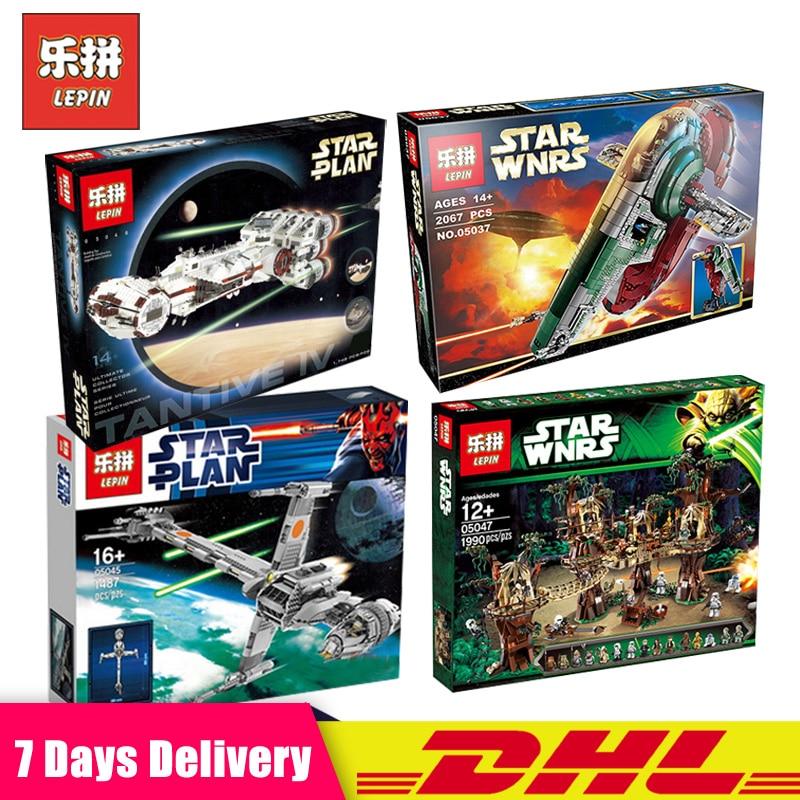 Lepin 05037 05045 05047 05046 Rebel Blockade Runner Star Wars Building LegoINGlys 75060 10227 10236 10019 Blocs Briques Jouets