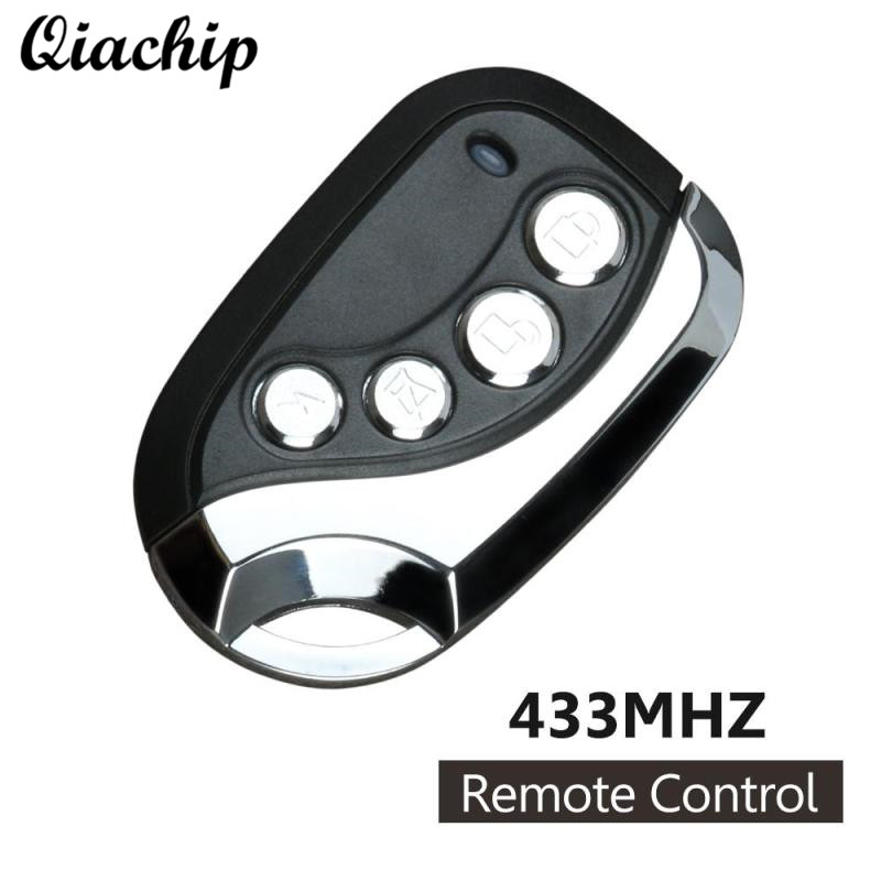 QIACHIP 433MHz DC 12 V 4CH Button Copy Learning Code 1527 Wireless RF Relay Transmitter Remote Control Switch For Garage Door