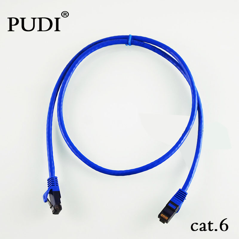 3M CCTV Camera Network Internet Cable Ethernet Cables Flat CAT.6 UTP Modem Router RJ45 Gold Connector Snagless Patch LAN Cable