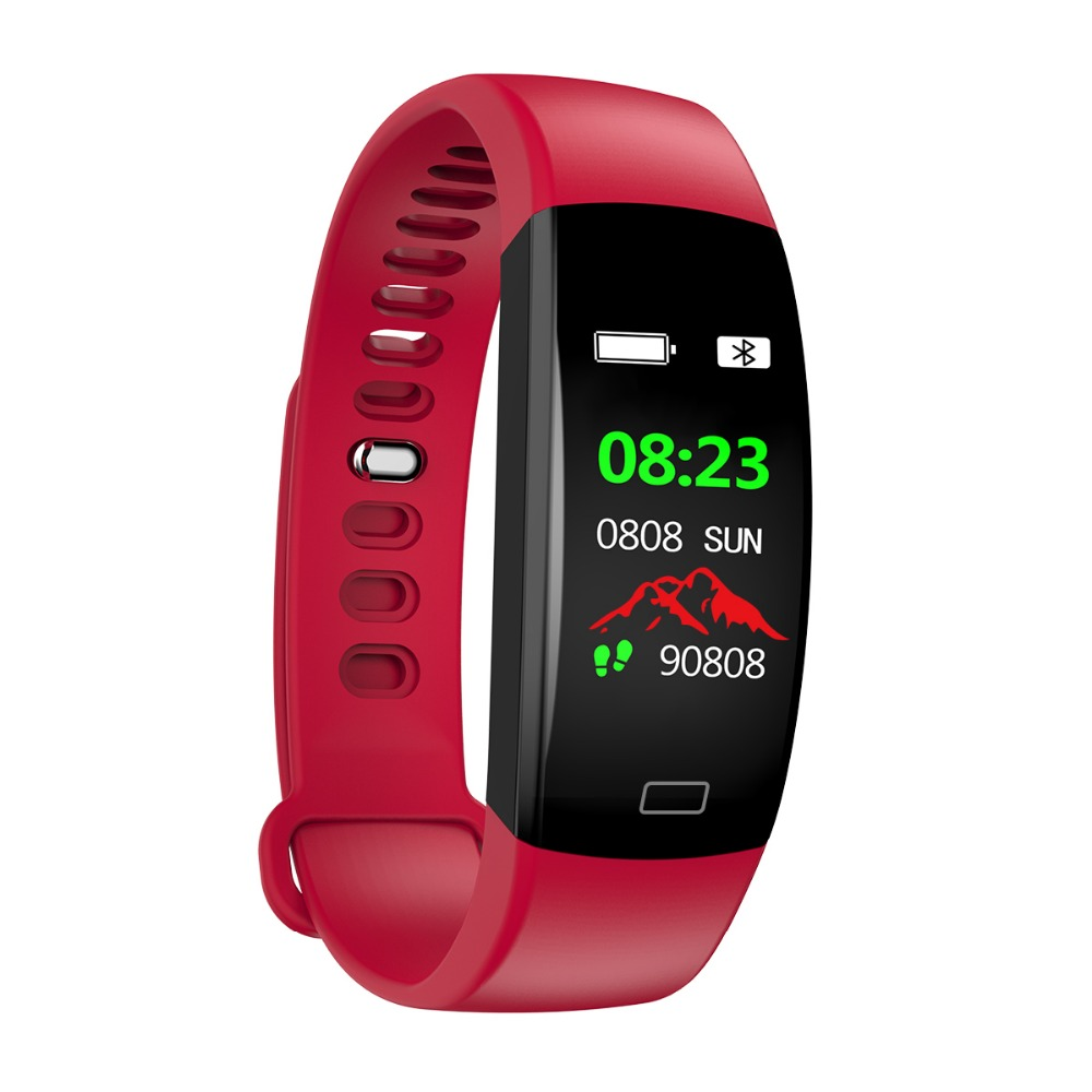 Smart Wristband 2018 Bracelet F64 Smartband gps waterproof sleep monitor Fitness Bracelet Smart Watch Call Alarm For iOS Android (64)