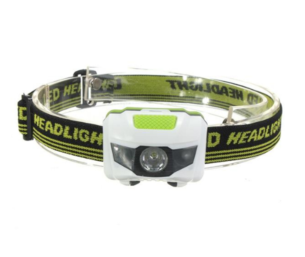 Led Head Lamp R3 2LED 4 Models Super Bright Mini Headlamp Headlight Flashlight Torch Lamp in Headlamps from Lights Lighting