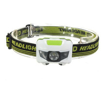 Led Head Lamp R3+2LED 4 Models Super Bright Mini Headlamp Headlight Flashlight Torch