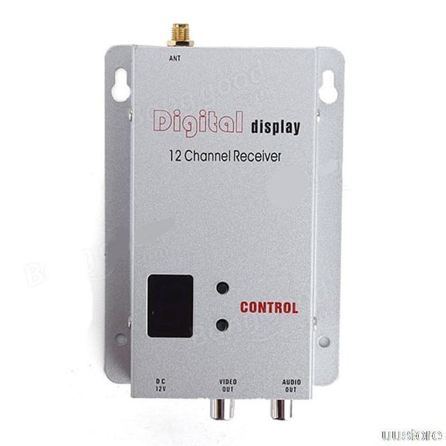 1.2g 1.2ghz 800mw Digital wireless AV Video/Audio Transmitter and Receiver ZMR250 QAV280 QAV250