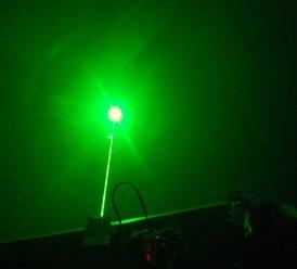 80mW 532nm green Laser Diode Module -Free shipping 5mw 532nm green laser diode module with power supply and bracket size 22x110mm
