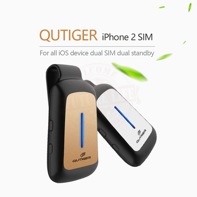 Bluetooth Dual 2 SIM Standy Adapter Morecard With Expansion Micro Card Slot For IOS7